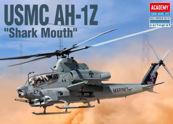 USMC AH-1Z Shark Mouth > 1:35