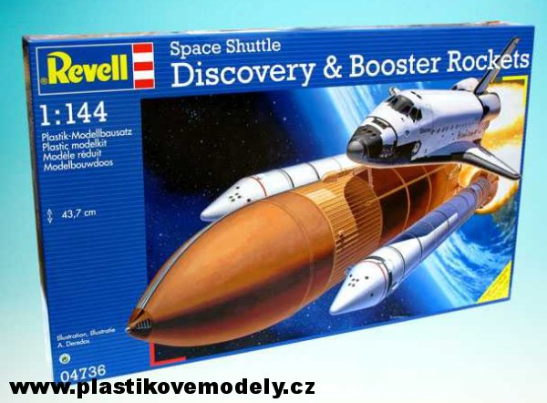 revell discovery space shuttle with boosters - photo #23