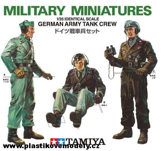 German Army Tank Crew (Tamiya 1:35) > 1:35