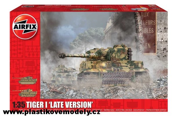 Classic Kit tank A1364 - Tiger-1 Late Version (Airfix 1:35) > 1:35