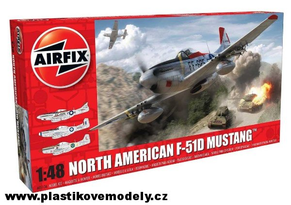 Classic Kit letadlo A05136 - North American F-51D Mustang (Airfix 1:48) > 1:48