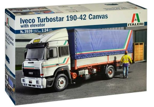 Model Kit truck 3939 - IVECO Turbostar 190-42 Canvas (Italeri 1:24) > 1:24