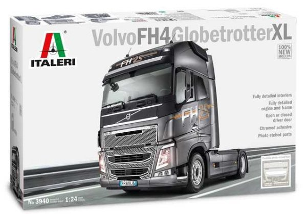 Model Kit truck 3940 - VOLVO FH4 GLOBETROTTER XL (Italeri 1:24) > 1:24