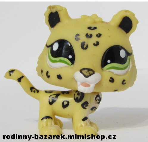 LITTLEST PET SHOP - jaguar LPS 1419 > varianta LPS 1419 č.1