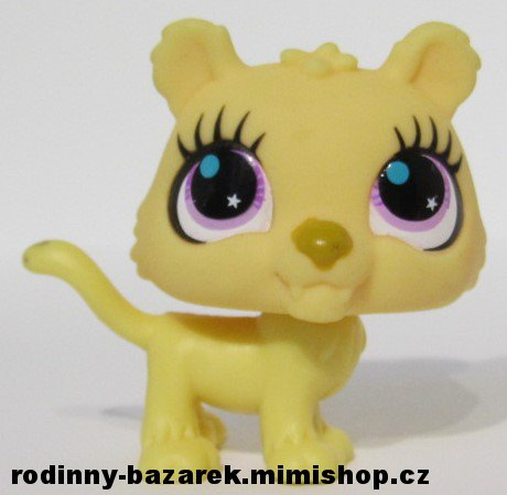 LITTLEST PET SHOP - jaguar LPS 2782 > varianta LPS 2782