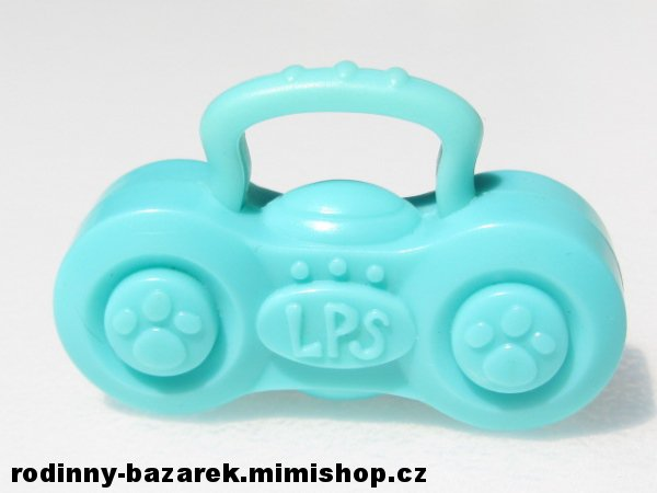 LITTLEST PET SHOP rádio LPS > varianta modré