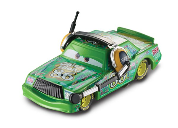Mattel Cars 3 Auta Chick Hicks se sluchátky > varianta Chick Hicks