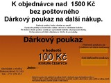 Kupon na 100 K zdarma k nkupu