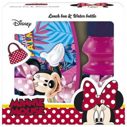 MINNIE MOUSE LUNCH SADA SVAČINOVÝ BOX A LÁHEV NA PITÍ > varianta lunch sada