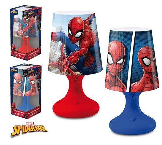 LED LAMPIČKA  SPIDERMAN > varianta led lampa červená