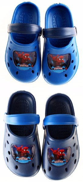 PANTOFLE,NAZOUVÁKY ,CROCS SPIDERMAN > 25/26