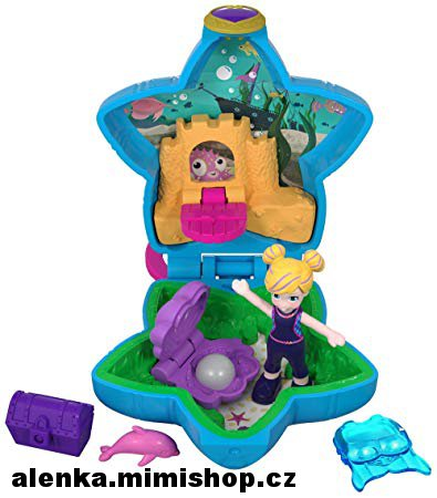 POLLY POCKET panenka do kapsy > varianta aquarium