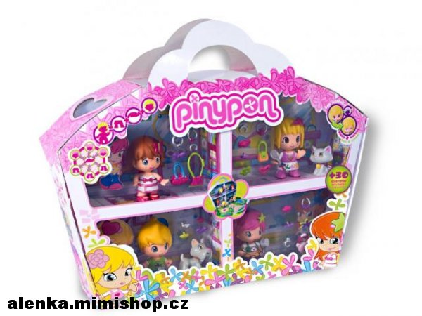 PIN-Y-PON set figurek