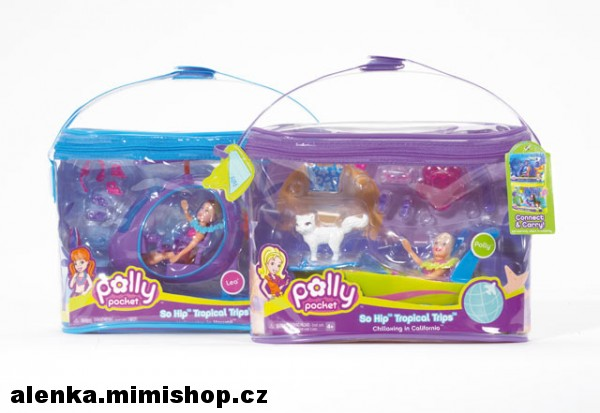 POLLY POCKET HIP tropical set
