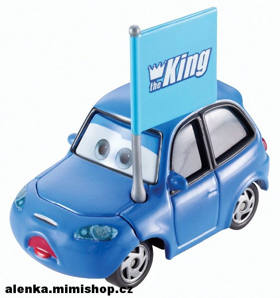 CARS 2 auta > varianta MATEW TRUE BLUE McCREW