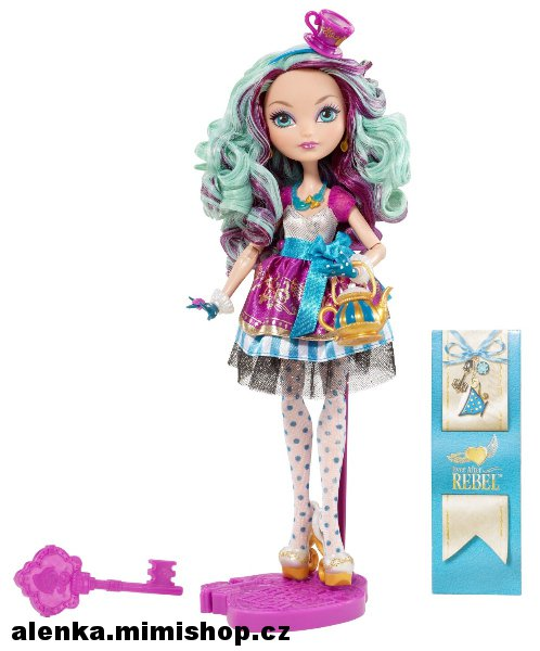 EVER AFTER HIGH rebelové > varianta MADELINE HATTER