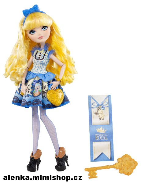 EVER AFTER HIGH šlechtici > varianta BLONDIE LOCKES