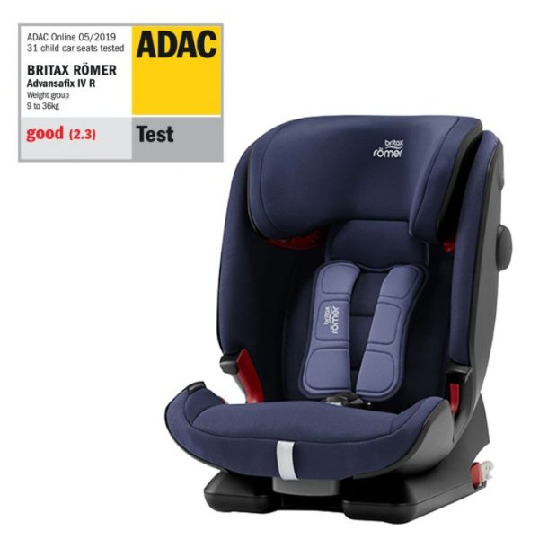 Britax Römer Advansafix IV R 2020 > varianta Moonlight Blue