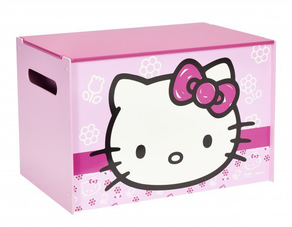 Hello Kitty - Bedna box na hračky > varianta Ready Room Hello Kitty