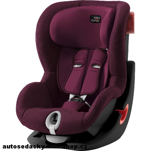 BRITAX RÖMER King II  Black Edition > varianta Burgundy Red