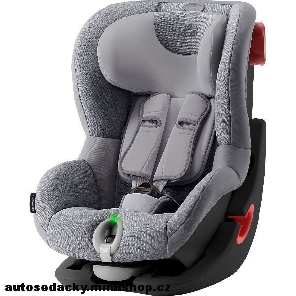BRITAX RÖMER King II LS 2019 Black Edition > varianta Grey Marble