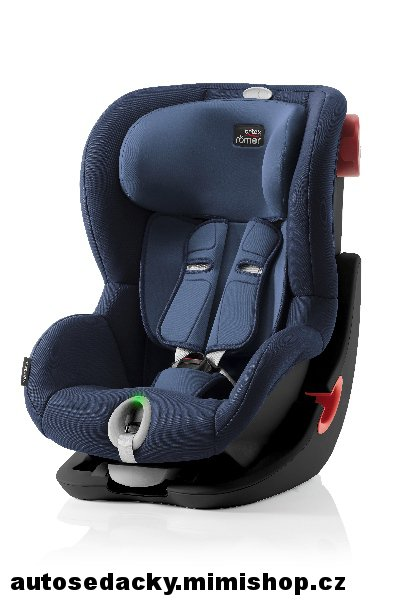 BRITAX RÖMER King II LS 2019 Black Edition > varianta Moonlight Blue