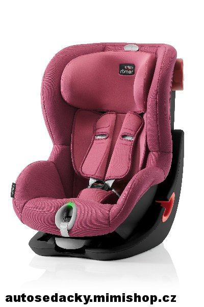 BRITAX RÖMER King II LS 2018 Black Edition > varianta Wine Rose