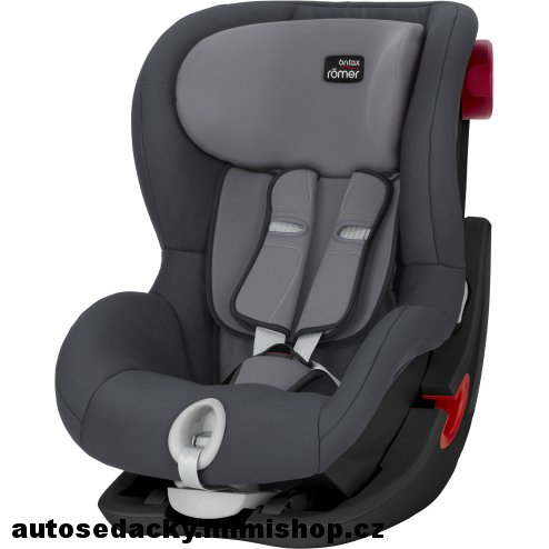 BRITAX RÖMER King II  Black Edition > varianta Storm Grey