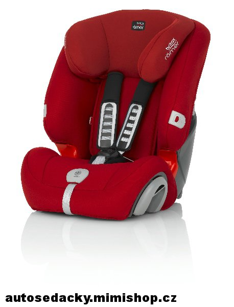 BRITAX RÖMER Evolva 123 PLUS > varianta Flame Red