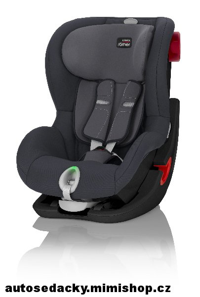 BRITAX RÖMER King II LS  Black Edition > varianta Storm Grey