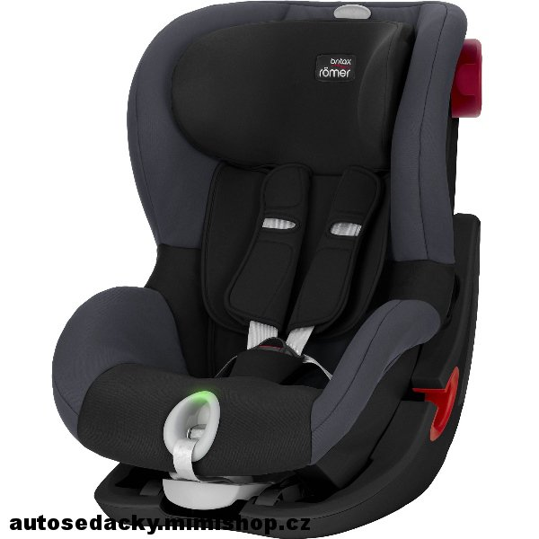 BRITAX RÖMER King II LS 2019 Black Edition > varianta Black Ash