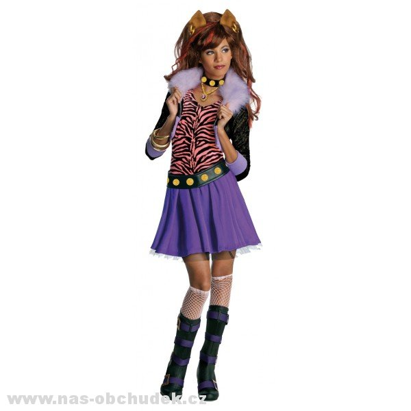 Clawdeen Wolf - kostým Monster High > M (5-7 let)