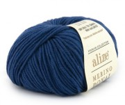 Merino royal - 444 - modrá