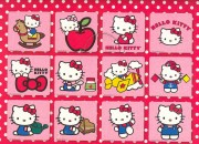 3D magnety Hello Kitty
