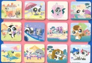 3D magnety Littlest Pet Shop