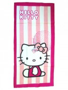 Osuška Hello Kitty Candy Stripe