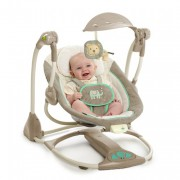Bright Starts - HOUPÁTKO SWING 2 SEAT WHIMSICAL WONDERS,  0M +  DO 9KG
