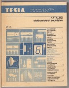 KATALOG ELEKTRONICKCH SOUSTEK,  dl 2	(	Kolektiv	)