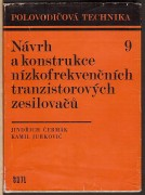 NVRH A KONSTRUKCE NZKOFREKVENNCH TRANZISTOROVCH ZESILOVA	(	ermk Jindich / Jurkovi Kamil	)