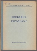 PRBN POVOLN (Tarifn kvalifikan katalog)