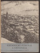 KREMNICK POHORIE A KREMNICA	(	Orszgh Karol	)	(	slovensky	)