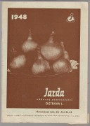 Katalog: JARDA,  odborn semenstv Ostrava