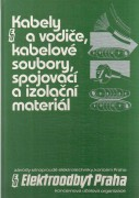 KABELY A VODIE,  KABELOV SOUBORY,  SPOJOVAC A IZOLAN MATERIL	(	Linhart Roman	)