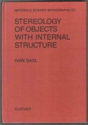 STEREOLOGY OF OBJECTS WITH INTERNAL STRUCTURE	(	Saxl Ivan	)	(	anglicky	)