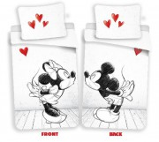 Povlečení Mickey a Minnie in love 02