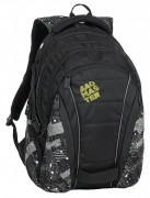 Studentský batoh Bagmaster - Bag 9 G - Green/Gray/Black
