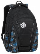 Studentský batoh Bagmaster - Bag 9 D - Blue/Gray/Black
