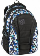 Studentský batoh Bagmaster - Black/Blue/Grey - BAG - 7 I