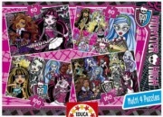 Puzzle MONSTER HIGH 4v1
