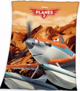 Fleece deka Disney Planes 130/160